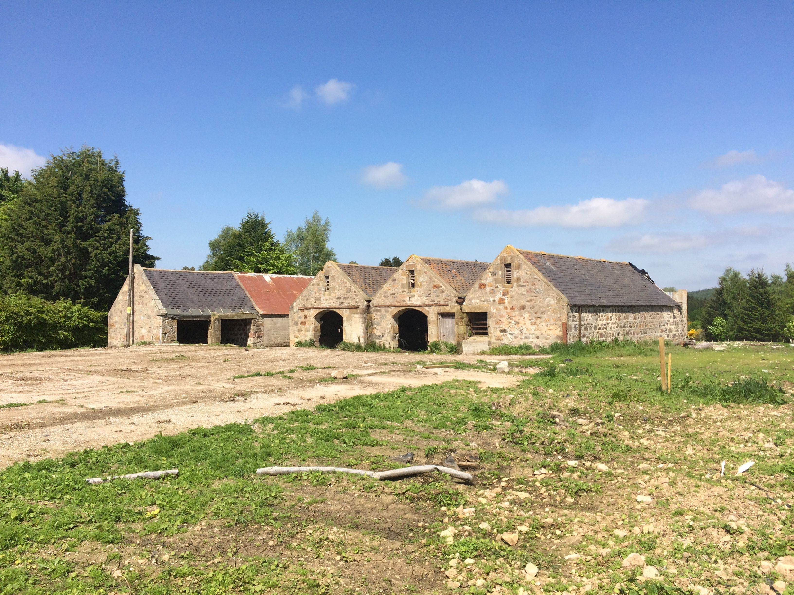 Wester Greens Steading, Dunphail